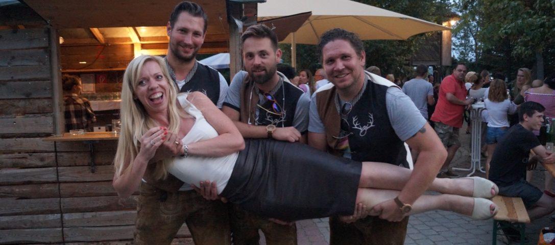 Martina Sattler, Organisatorin von Sattler's Sommerfest mit den Obersteirern