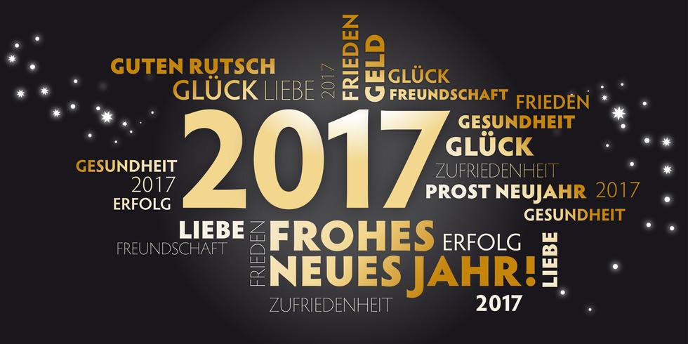 Sattlers Neujahrswünsche 2017